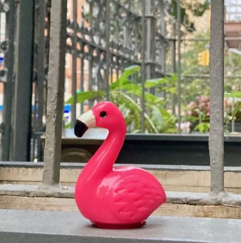 pink flamingo lip gloss photo by gail worley