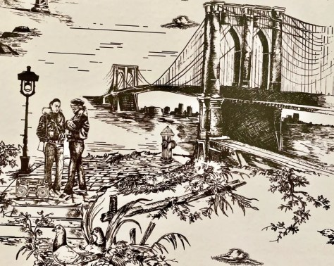 couples and brooklyn bridge photo by gail worley