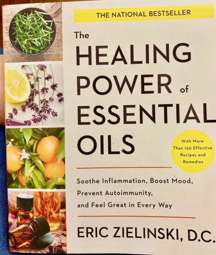 essential oils book photo by gail worley