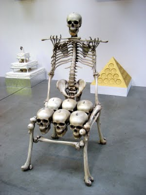 skull chair bar stool chairs with backs bones the worley gig