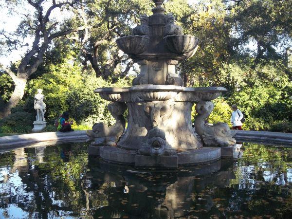 Huntington Library Garden Fountain