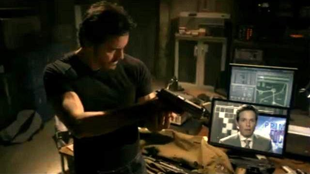 Charles Mesure as Kyle Hobbes from Red Rain