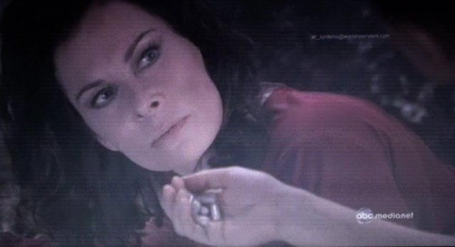 Jane Badler as Diana in Serpents Tooth!