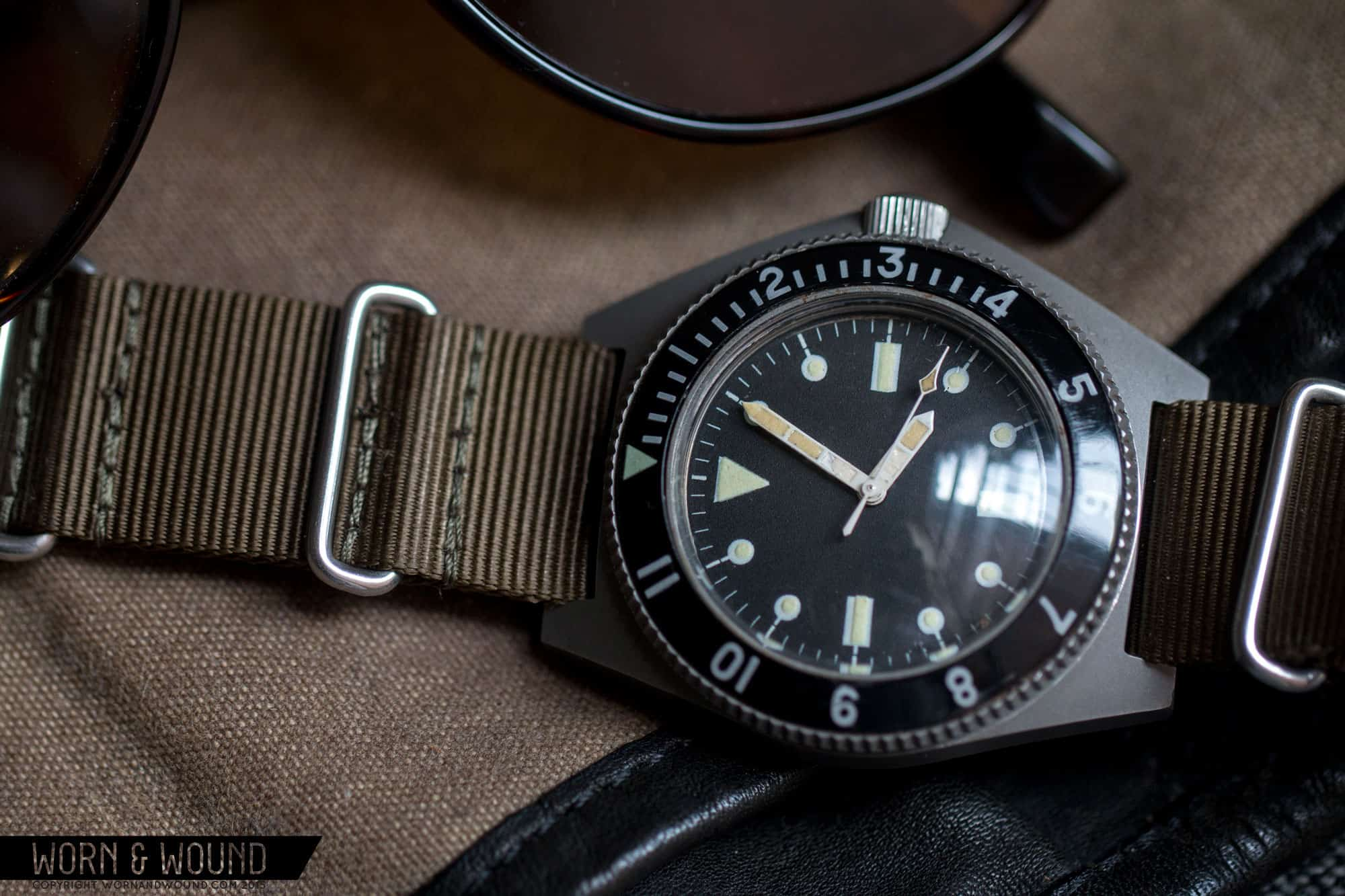 Benrus Type I and Type II MILW50717 Military Dive
