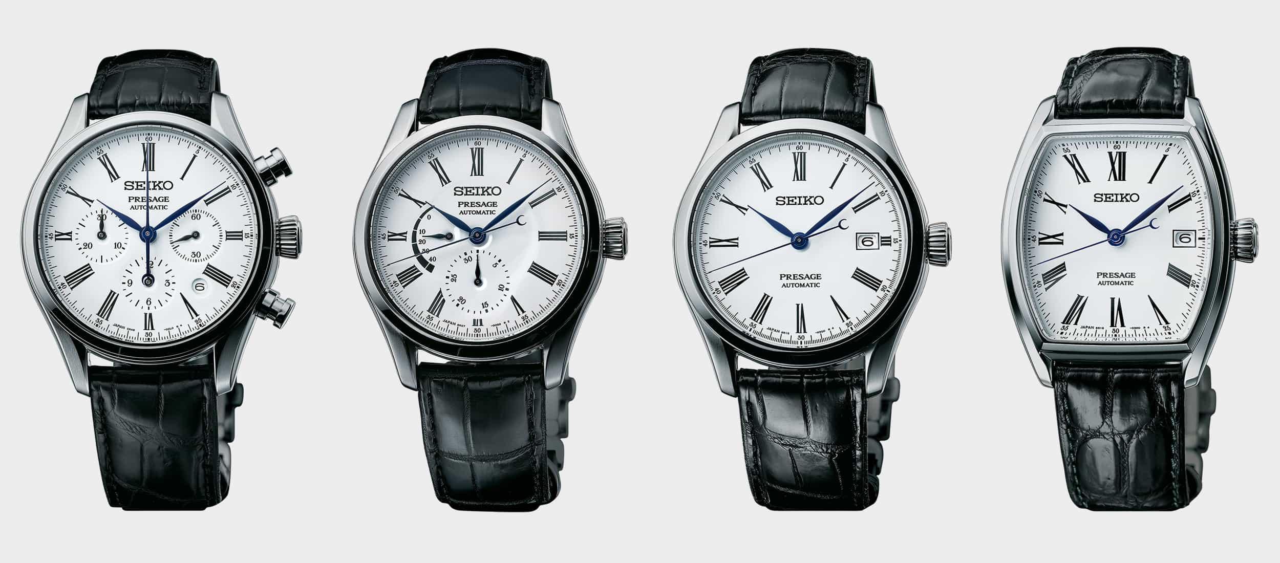 Seiko Presage Previews Four New Enamel Dialed Watches