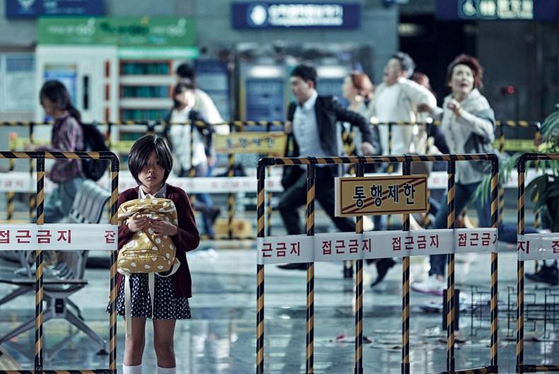 La petite Su-an (Kim Soo-Ahn) au milieu du danger
