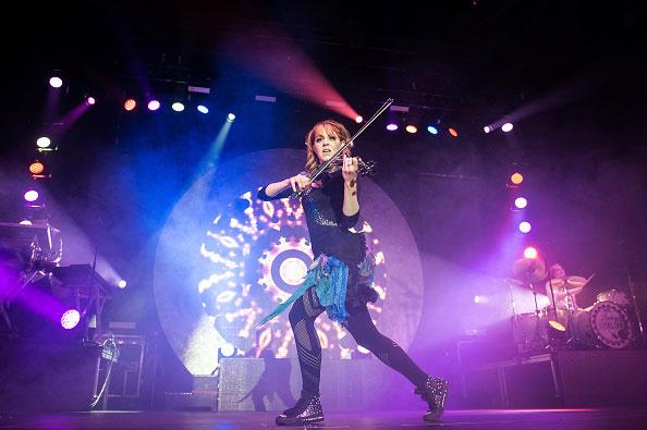 Lindsey Stirling lors d'un concert