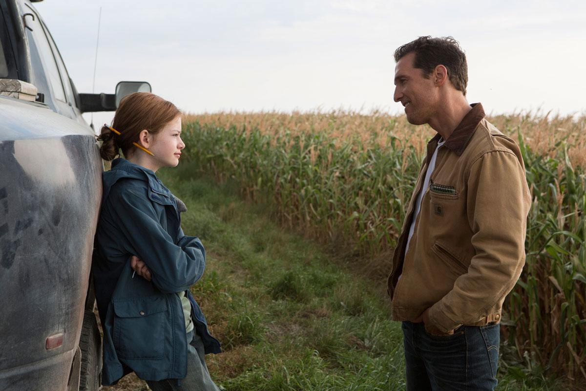 Cooper et sa fille, Murphy