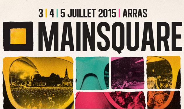 Affiche du Mainsquare Festival 2015