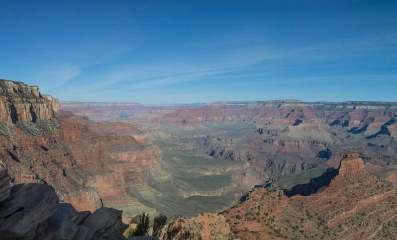 Le Grand Canyon en pleine journée