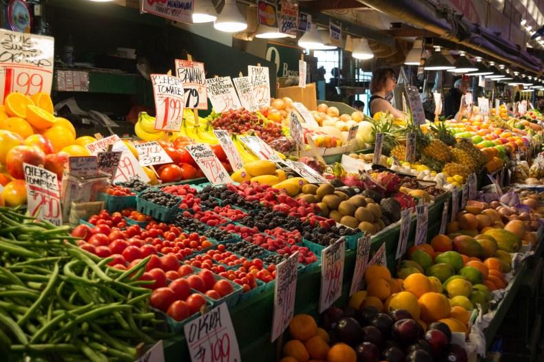 Des fruits et légumes bien frais
