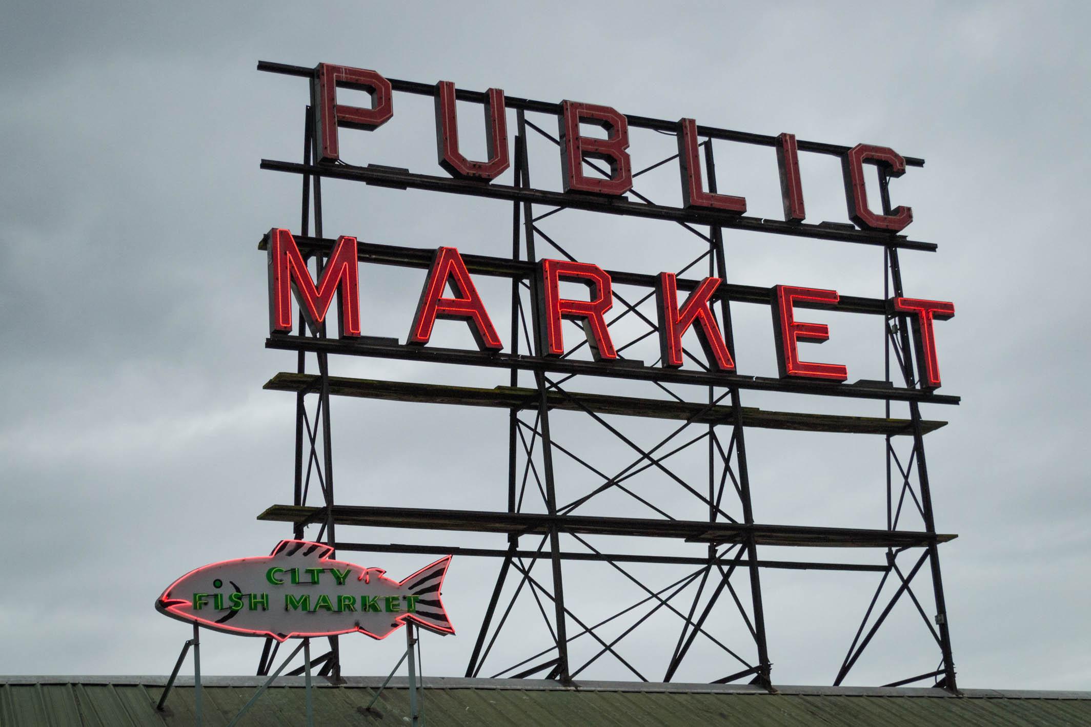 L'insigne de Public Market