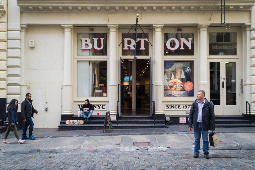 Dans les rues de Manhattan à New-York