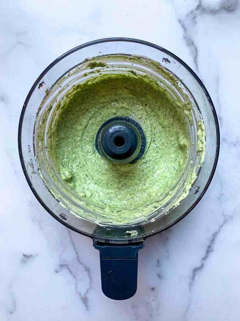 avocado and lime crema done