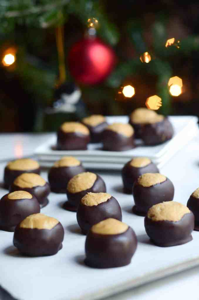 buckeye candies are the perfect treat for christmas