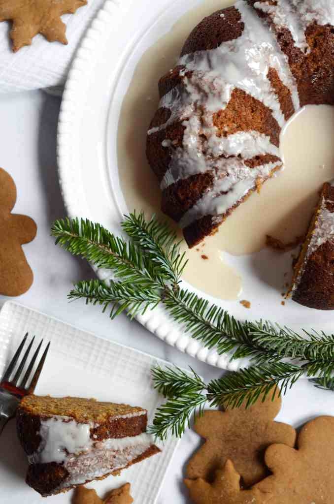 gingerbread is the most delicious holiday flavor, IMHO.
