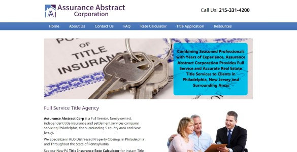 Assurance Abstract Corp. | A Full Service Title Agency