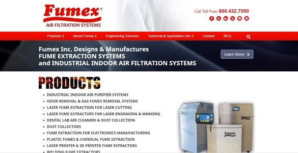 Fumex-Inc | Air Filtration