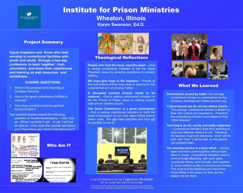 Institute For Prison Ministries Wheaton College