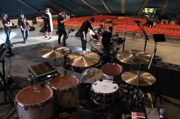 Harrison Wood drum setup