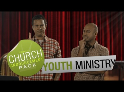 Church Announcement Youth Ministry  Skit Guys Studios  Youth Worker
