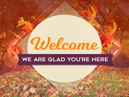 Christian Wallpaper Fall Offering Fall Welcome Loop Hyper Pixels Media Worshiphouse Media