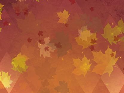 Fall Leaves Wallpaper Powerpoint Background Thanksgiving Background Loop Vol3 Hyper Pixels Media