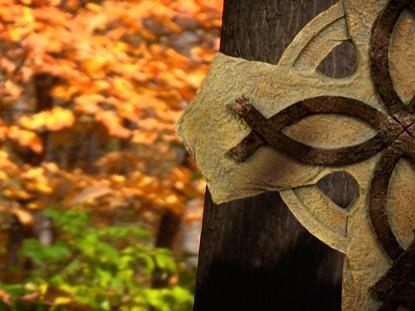 Orange Fall Wallpaper Fall Footage Celtic Cross Motion Motion Worship