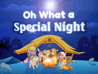 Oh What A Special Night Video Worship Song Track With