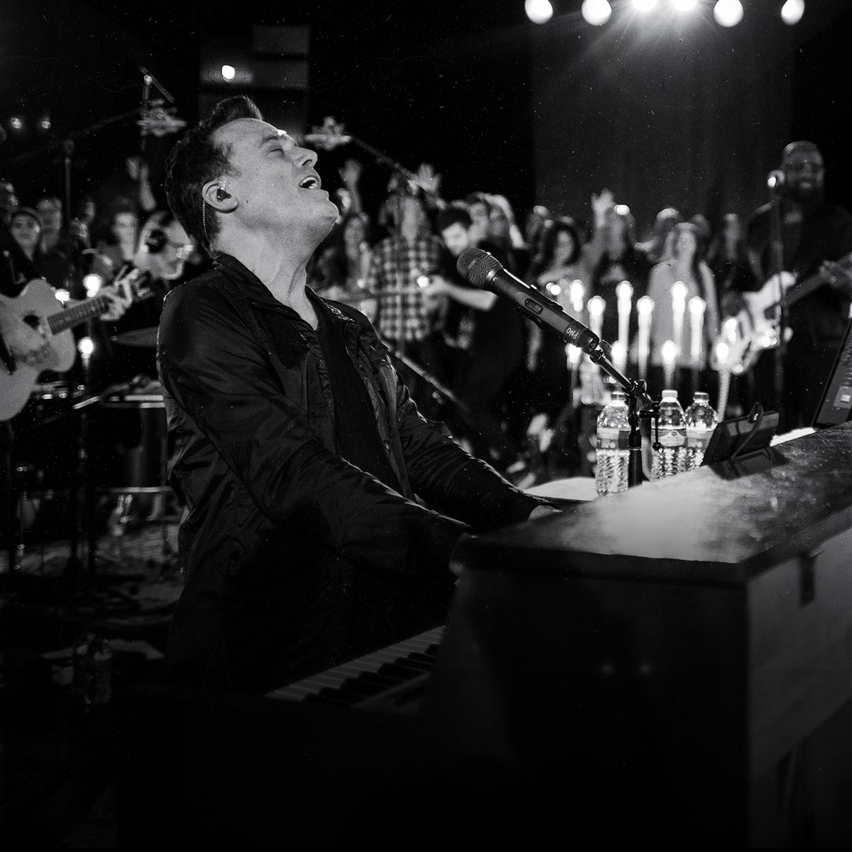 Image result for Michael W. Smith black and white