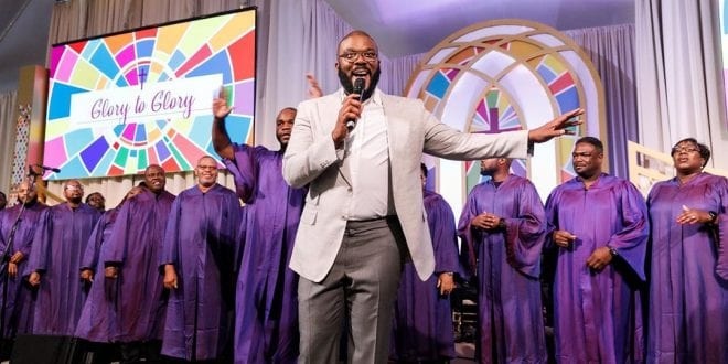 Tyler Perry Studio opening Church Service
