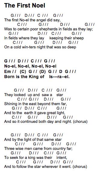 thefirstnoel-chord