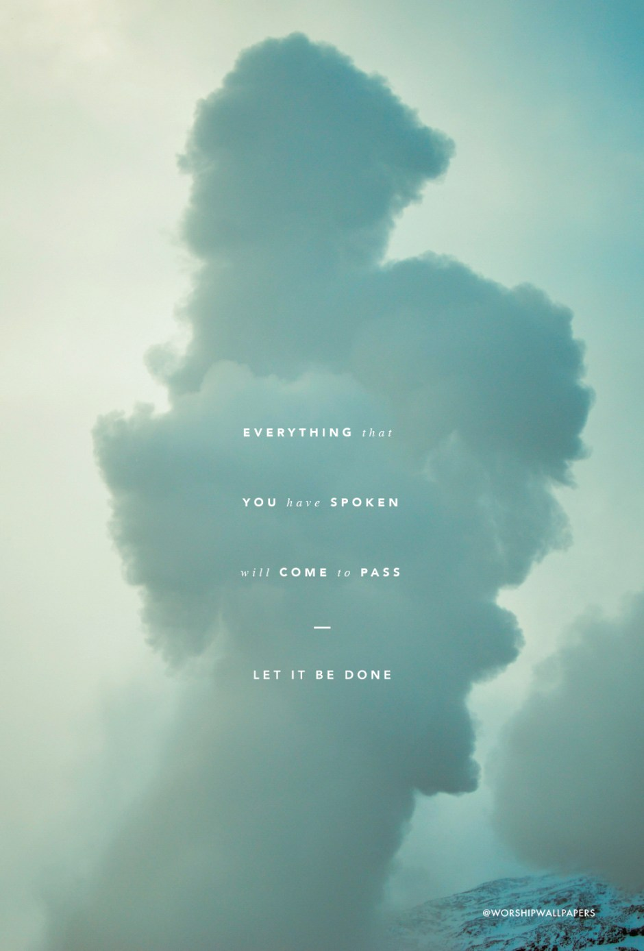 Iphone Cloud Wallpaper There Is Cloud Elevation Worship Worship Wallpapers