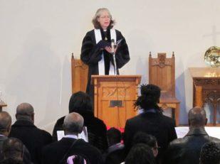 Preaching, London UK