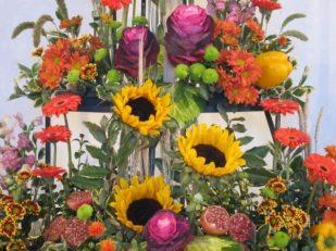 Harvest display, London UK