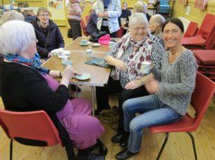 Tea time after church, Cumbria UK -- Ana Gobledale