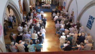 Salisbury United Reformed Church, UK -- by Hugh Abel