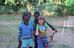 Friends, Mfanefile, KwaZulu-Natal, South Africa — Ana Gobledale