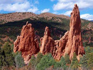 Colorado Rocky Crags -- by Thandiwe Dale-Ferguson
