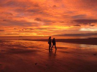 Sunrise, Whitley Bay, Northumberland UK -- Ana Gobledale
