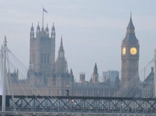 Westminster, London -- Ana Gobledale
