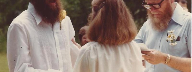 Chicago 1970's wedding