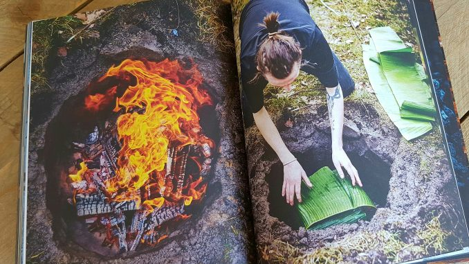 Foto van boek Smokey Goodness 2 over onder de grond BBQ'en