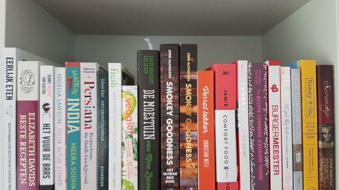 verzameling kookboeken