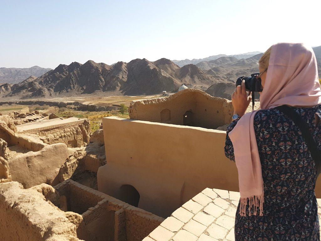 Bij Kharanagh in Iran
