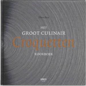Cover Het Groot Culinair Croquetten Kookboek voor foodie verlanglijstje