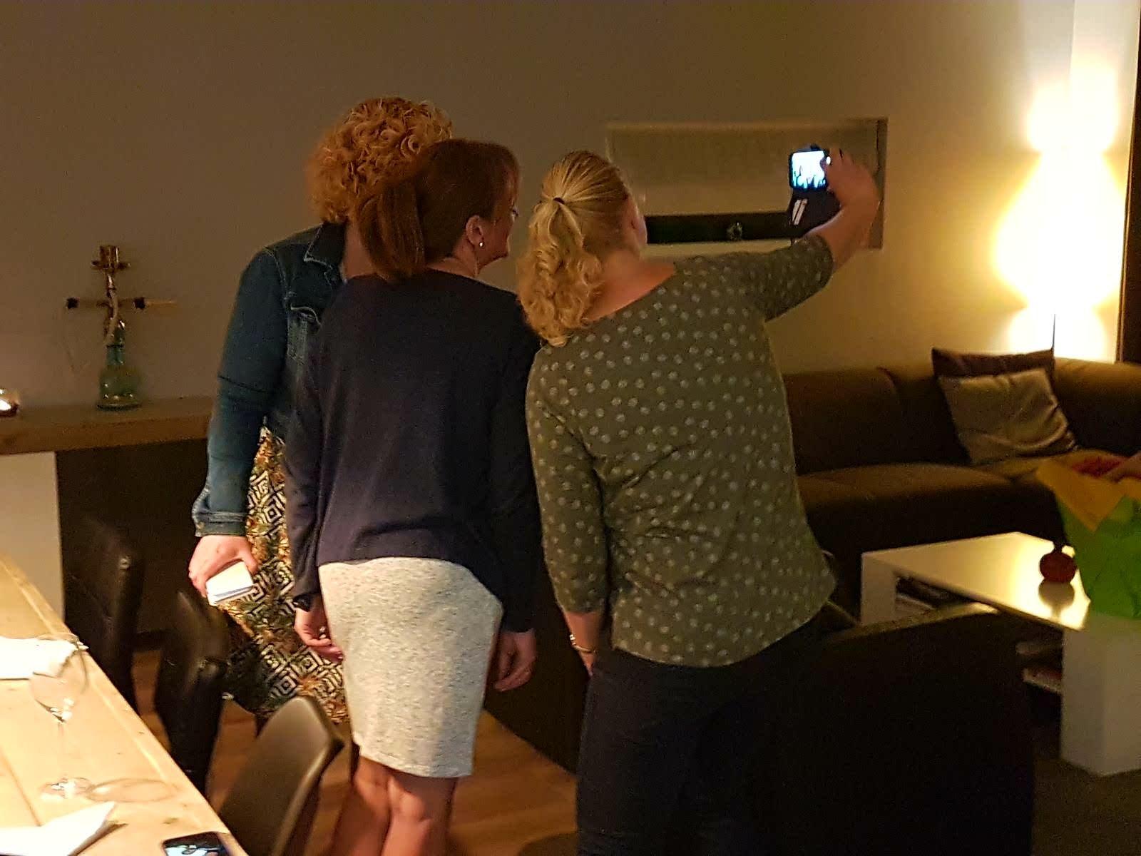 Foodbloggers selfie