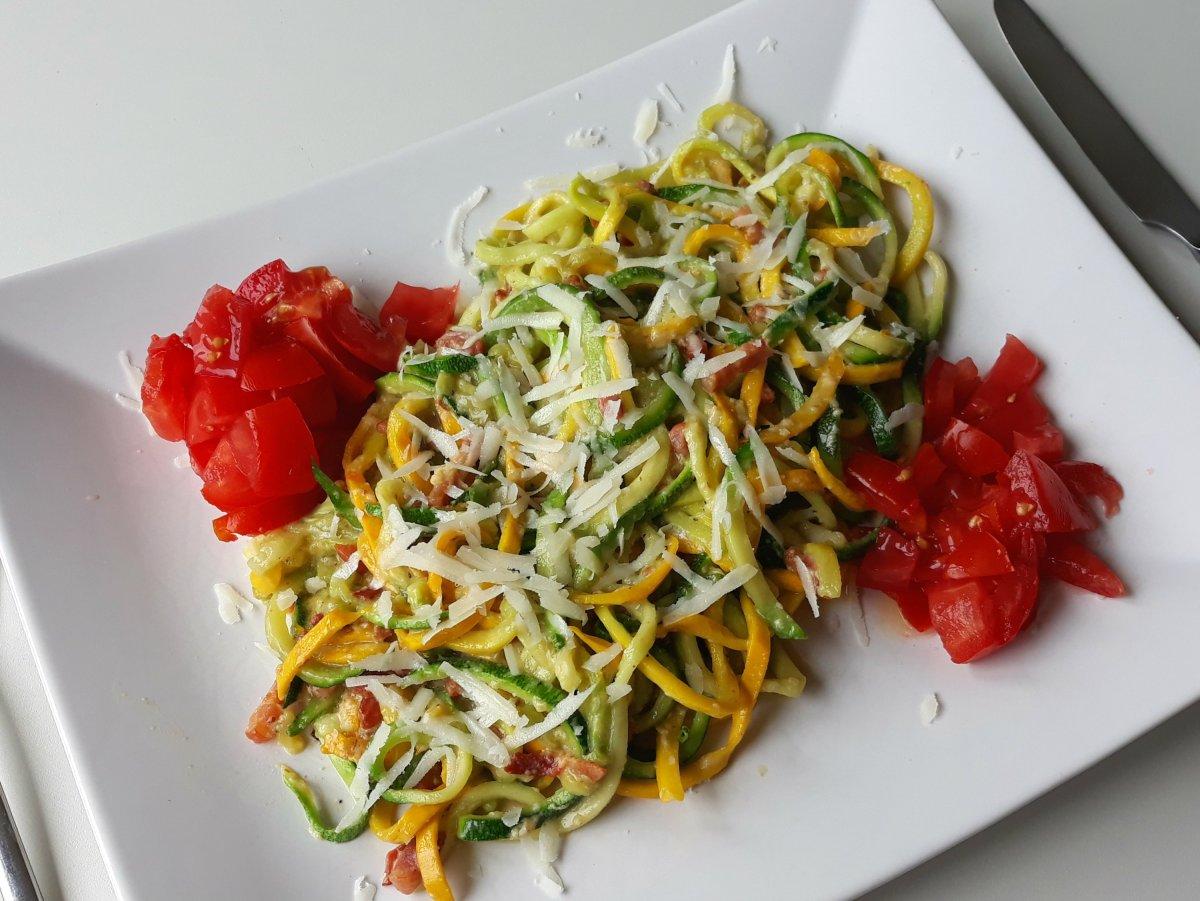 Courgetti Carbonara (net zo lekker als de pasta versie!)