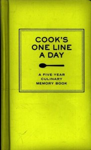 Cook's one line a day dagboek