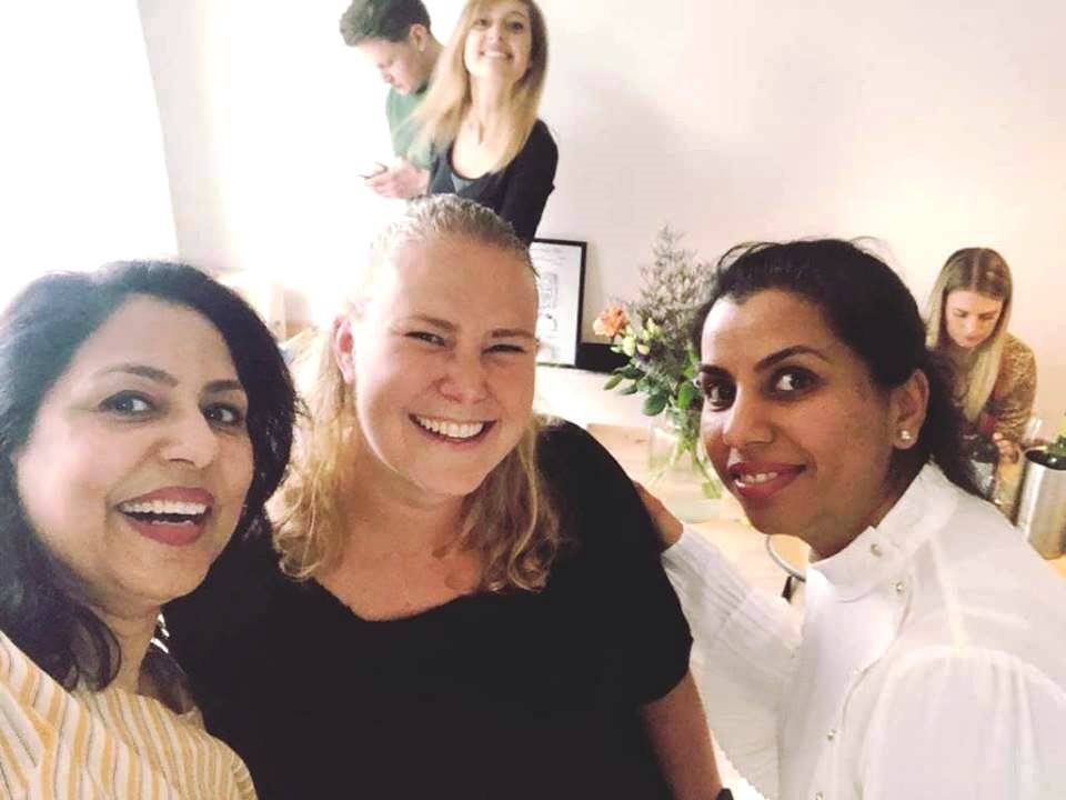 Selfie bij Indiase kookworkshop met Meenu